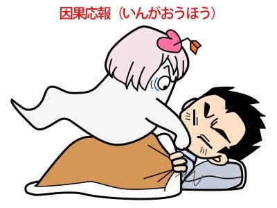 因果応報(いんがおうほう)