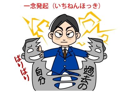 一念発起(いちねんほっき)